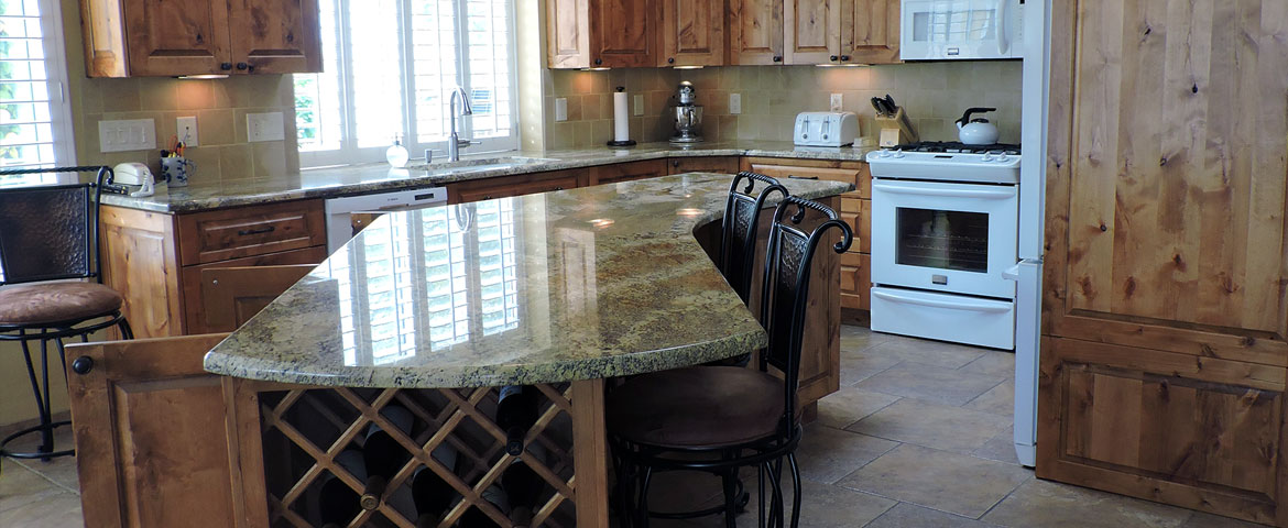 surfaces and cabinets